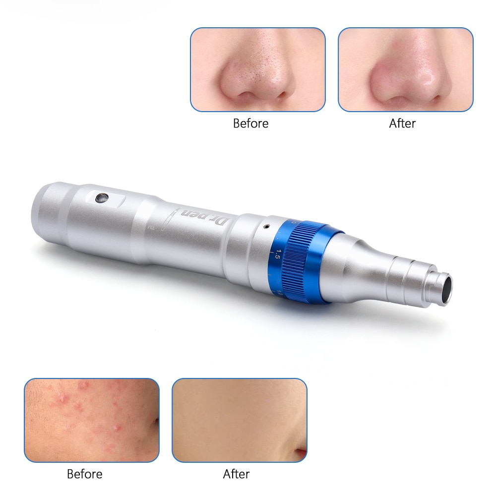 Electric Ultima Dr Pen A6 Permanent Microblading Needles Derma Acne Scar Removal Microneedle
