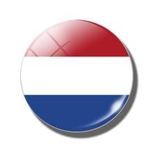 Drapeau hollande-hollande autocollant magnétique pour réfrigérateur   30 MM, drapeau néerlandais, pays-bas, pays-bas, Amsterdam porte-notes, verre magnétique pour réfrigérateur, décoration de maison