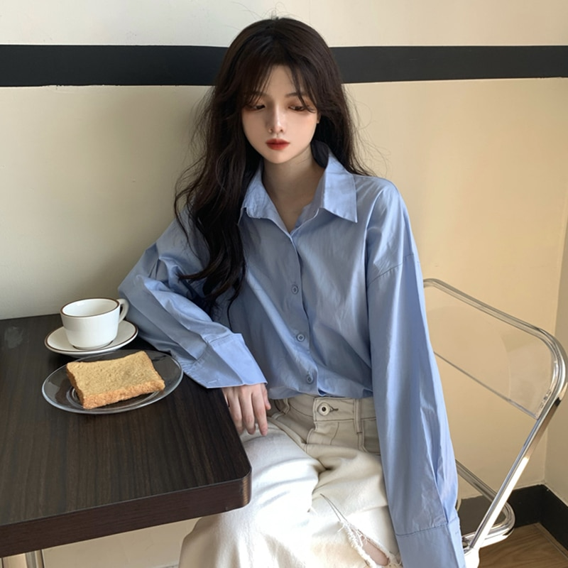 French Style Retro Korean Style Chic Top Spring and Autumn enlarge