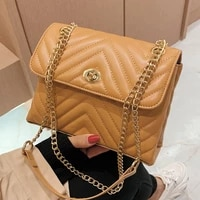 small v line handbags for women chain quilted messenger bag luxury leather shoulder bag brand all match ladies crossbody bag sac