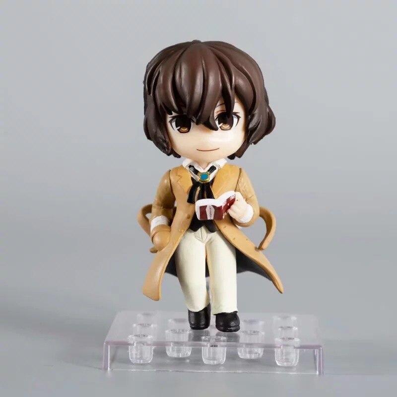 9 см 2 шт./компл. Nakajima Atsushi Bungou бродячие собаки dazai osamu фигурка игрушки кукла Рождественский подарок с коробкой