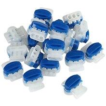 Promotion! 50 pièces connecteurs de fil pour jardin extérieur Automower robot tondeuse à gazon électrique chien clôture 314 connecteurs