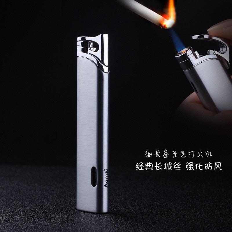 Compact Turbo Mini Gas Torch Lighter Windproof All Metal Jet Cigar 1300 C Butane No Gadgets For Men Gift
