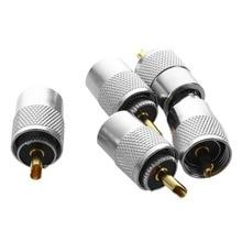 5 pcs UHF PL259 Plug Solder Connector for RG8