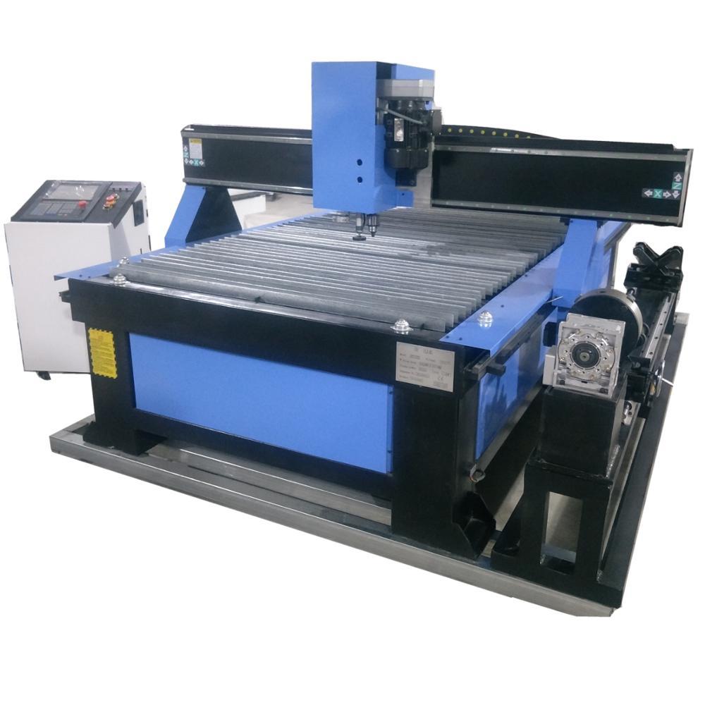 1325 mejor precio cnc de corte por plasma de China con perforación, máquina de corte por plasma cnc para tuberías, cortador de plasma cnc para corte de metal