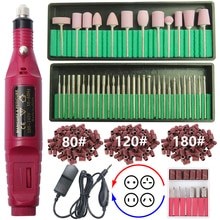 20000 RPM 2 Weg Drehen Elektrische Nagel Bohrer Maschine Nagel Bohrer Set Maniküre Pediküre Starke Nagel Datei Nagel Gel remover Kit