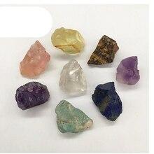 Pierres précieuses brutes en cristal de quartz naturel minéraux mélangés guérison pierre brute pour cadeaux