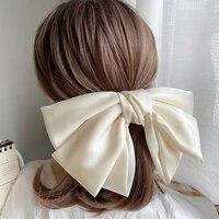 big bow hairpins girl popular bb hair clip women sweet hairgrip accessories wedding headband floral party gift headware kids