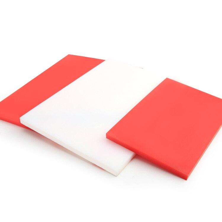 DIY almohadilla de goma Manual instalación martillo almohadilla de plástico Placa de protección cuchilla de perforación borde almohadilla de cuero punzón placa elástica