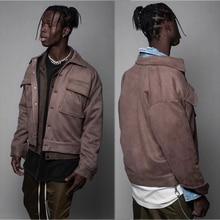 Уличная Повседневная Arnodefrance куртка, зимняя высококачественная модная куртка с логотипом и пуговицами, с эффектом потертости, Куртка карго, пальто