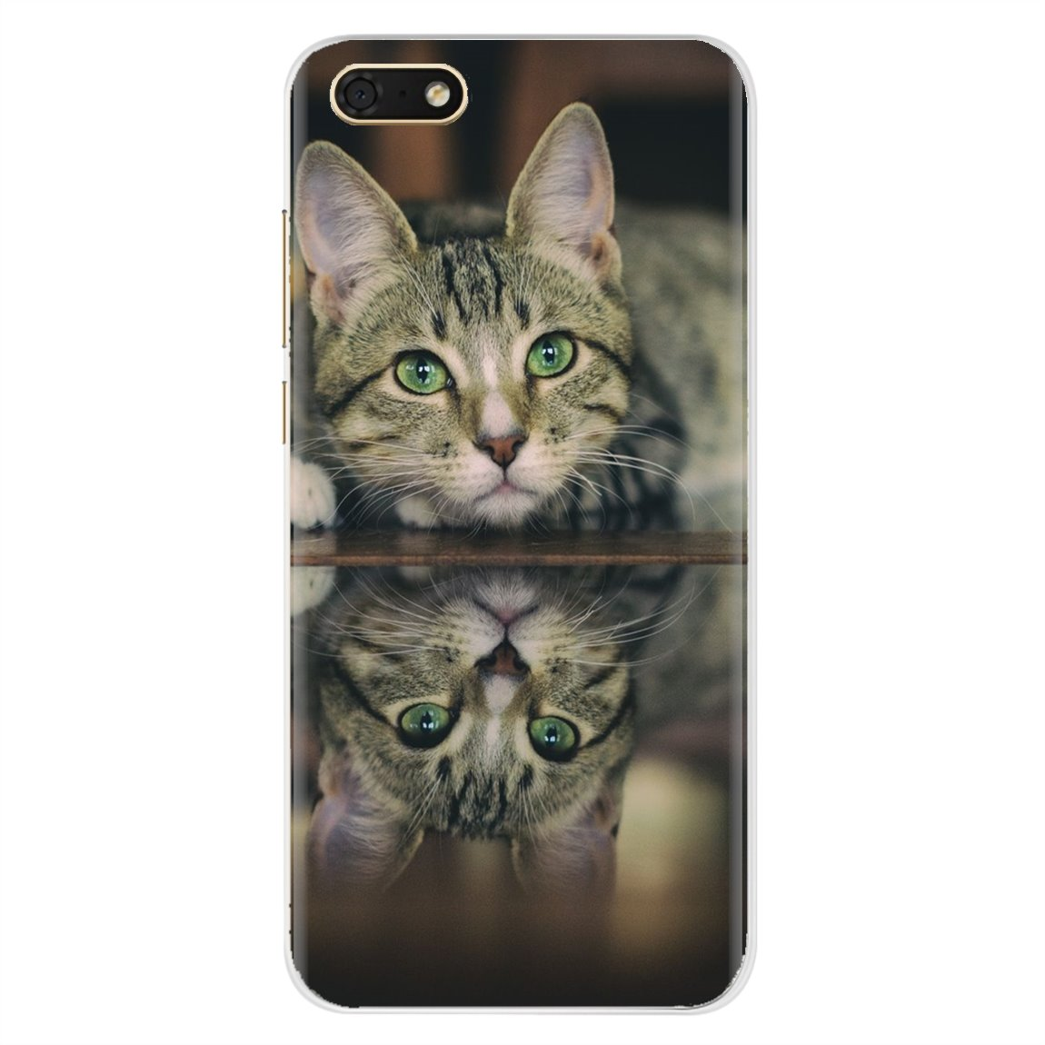 Bling caja del teléfono de silicona para HTC uno X9 M7 M8 A9 M9 M10 E9 más deseo 630, 530, 626, 628, 816, 820, 830 gato desgaste abuela gafas