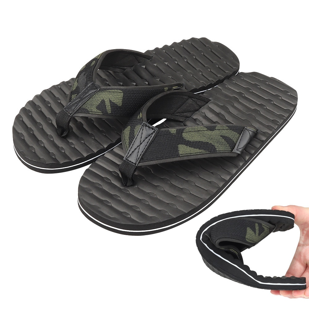 Tactical Flip Flops Slipper Camouflage Airsoft Men Women EVA Webbing Sport Hunting Military Accessories