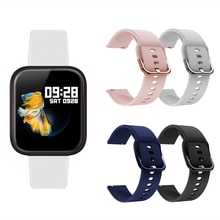 20mm Strap for P70 P80 Smart Watch Band Women Men Sport Strap Silicone Bracelet for SG2 Q16 I5 Wrist