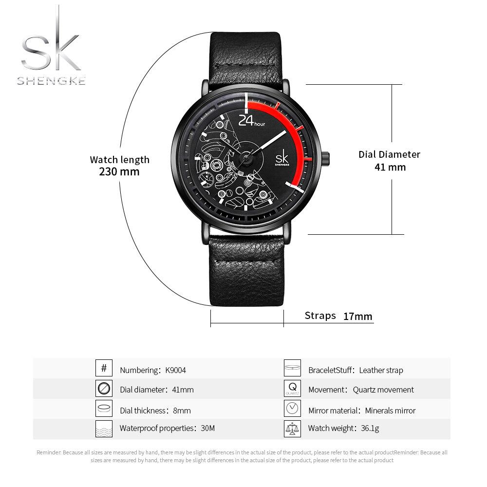 Analog Quartz Wrist Watch For Women Simple Black Leather Ladies Quartz Watch Temperament Black Watch Female Bracelet Clock enlarge
