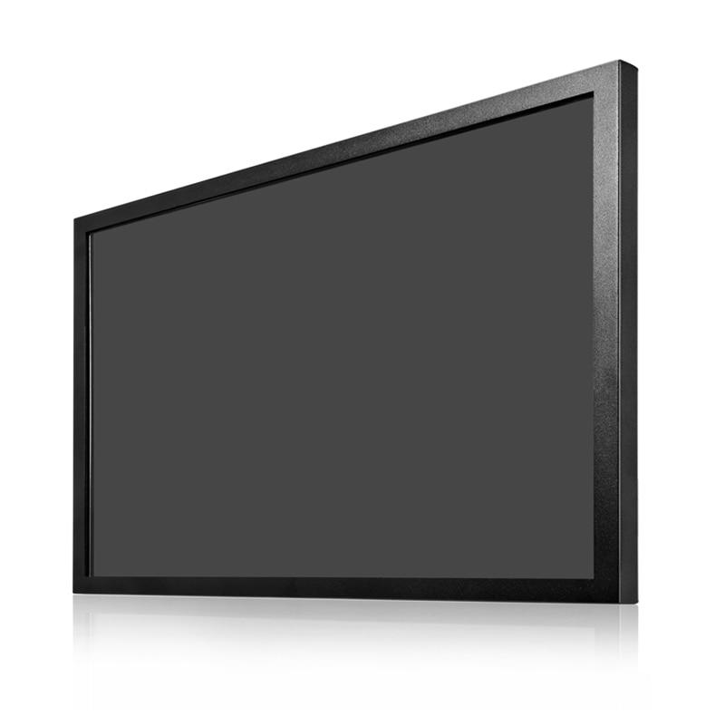 Nueva carcasa metálica de 17,3 pulgadas 169 monitor lcd de alta resolución 1920*1080 con AV/BNC/VGA/HDMI/USB