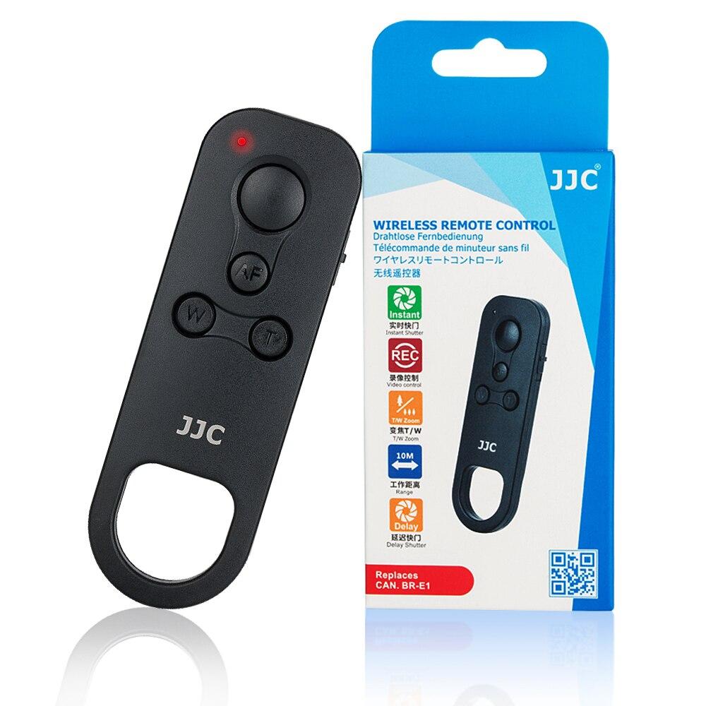 JJC BR-E1 Wireless Remote Control Shutter Release for Canon EOS M6 Mark II 200D PowerShot G5 X Mark II G7 X Mark III SX70 HS