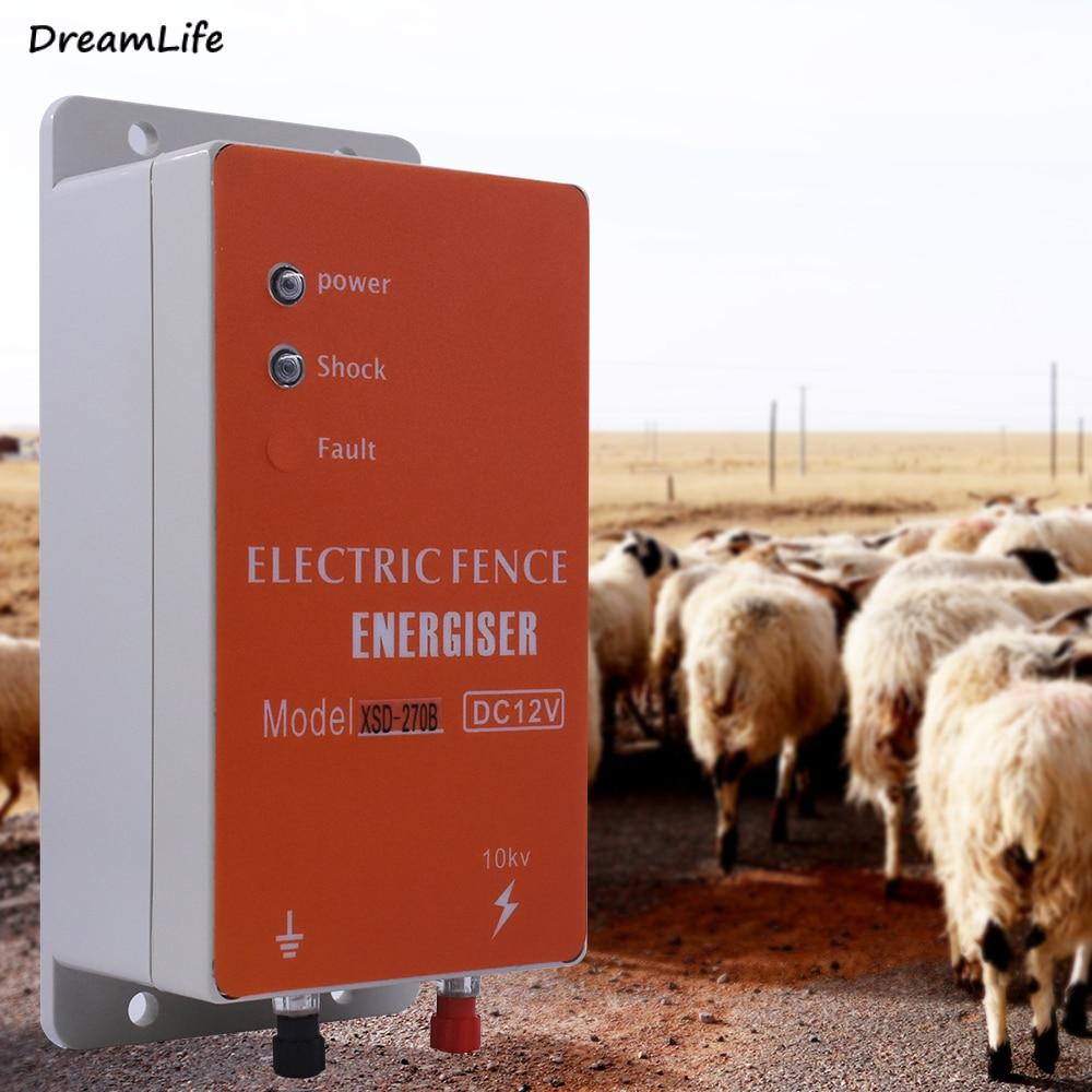 سياج كهربائي للحيوانات إنرجايزر شاحن الجهد العالي نبض تحكم مزرعة الدواجن الكهربائية المبارزة العوازل الراعي