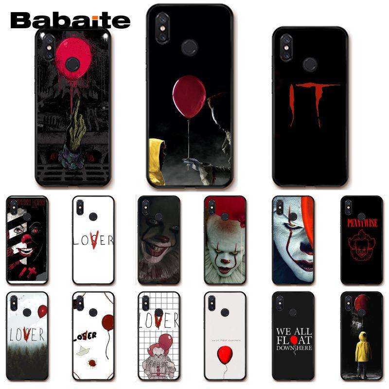 Babaite Stephen King s It pennywise Phone Case for Xiaomi mi5 6 A1 A2 Lite Mi9 9SE mi8lite 8explorer Pocophone F1