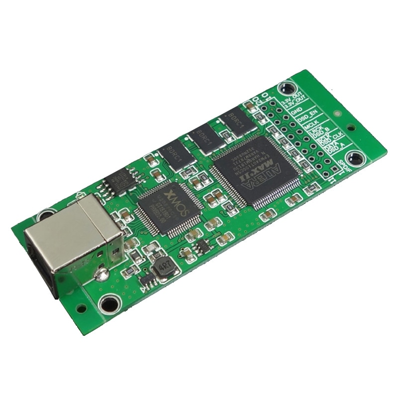 Xmos cpld xu208 usb interface digital i2s saída para es9038rpo ak4497 dacak4497 es9018 es9028 es9038 dac decodificador placa