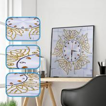 لتقوم بها بنفسك 5D الماس صورة التطريز عبر غرزة ساعة الماس اللوحة فسيفساء الراين التطريز الهدايا