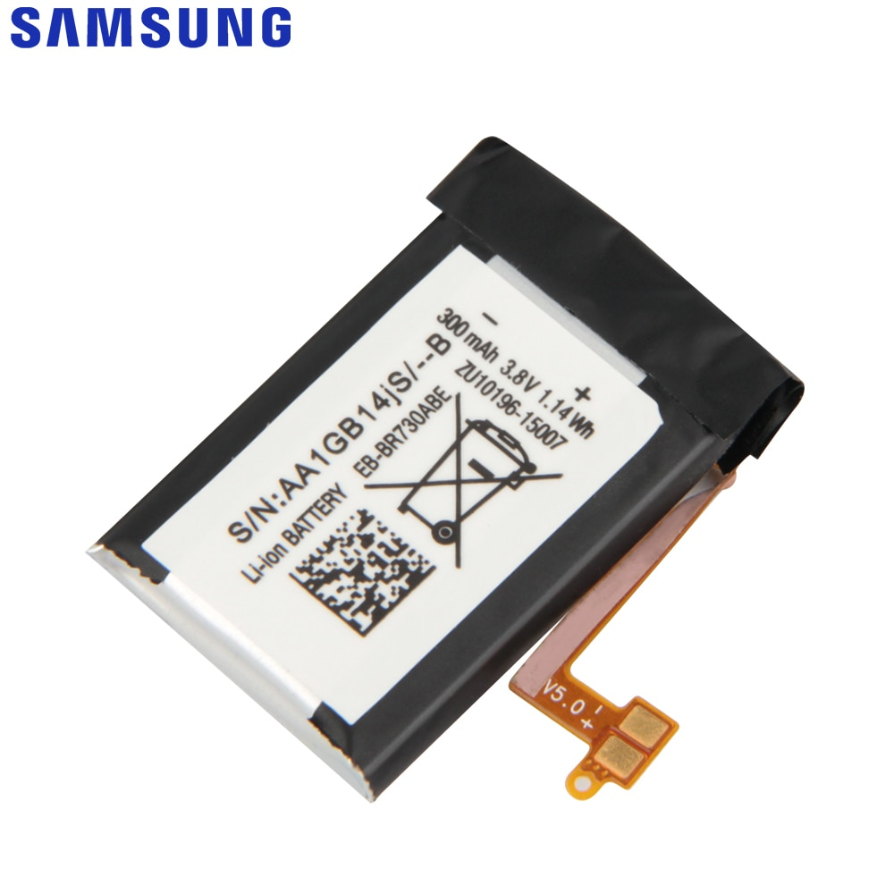 SAMSUNG Original Replacement Battery EB-BR730ABE For Samsung Gear S2 3G R730 SM-R735T SM-R730A SM-R735V SM-R730T SM-R730S 300mah enlarge