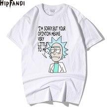 HIPFANDI hommes T-Shirts Rick et Morty Homme été à manches courtes hommes T-Shirts hommes T-Shirts Camiseta t-shirt Homme grande taille XXL