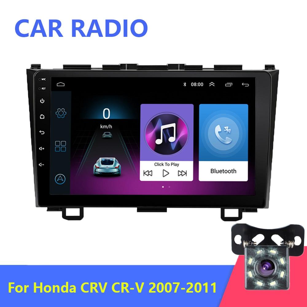 2G + 32G 2din Android 9.1 car radio GPS navigation CR-V 2006 2007 2008 2010 2011 mp5 car multimedia video player for Honda CRV