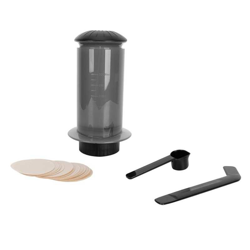 300 мл портативный пресс Кофеварка Ручной пресс кофейник ручной фильтр для кофе контейнер кухонное приспособление