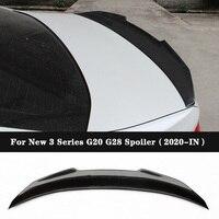 PS-0M Style Carbon fiber Trunk Spoiler For BMW 3 Series G20 G28 320d 330i M340i 2020+