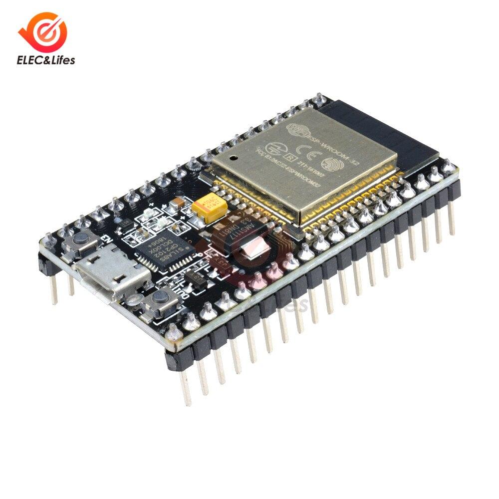 ESP32 ESP-32 Placa de desarrollo inalámbrico de 2,4 GHz Dual-modelo WiFi Bluetooth Dual Core CP2104 filtros módulo de potencia RF AP STA AP + STA