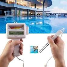 2 en 1 PH compteur de chlore testeur de qualité de leau Portable PH CL2 dispositif pour piscine Aquarium Spa