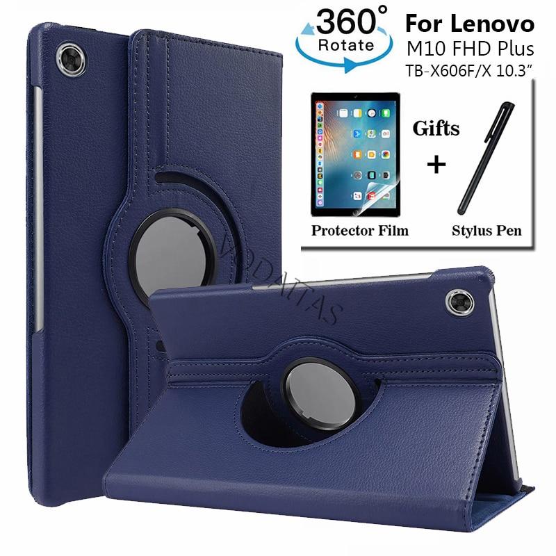 Funda giratoria para tableta Lenovo Tab M10 Plus TB-X606X, X606F, 10,3