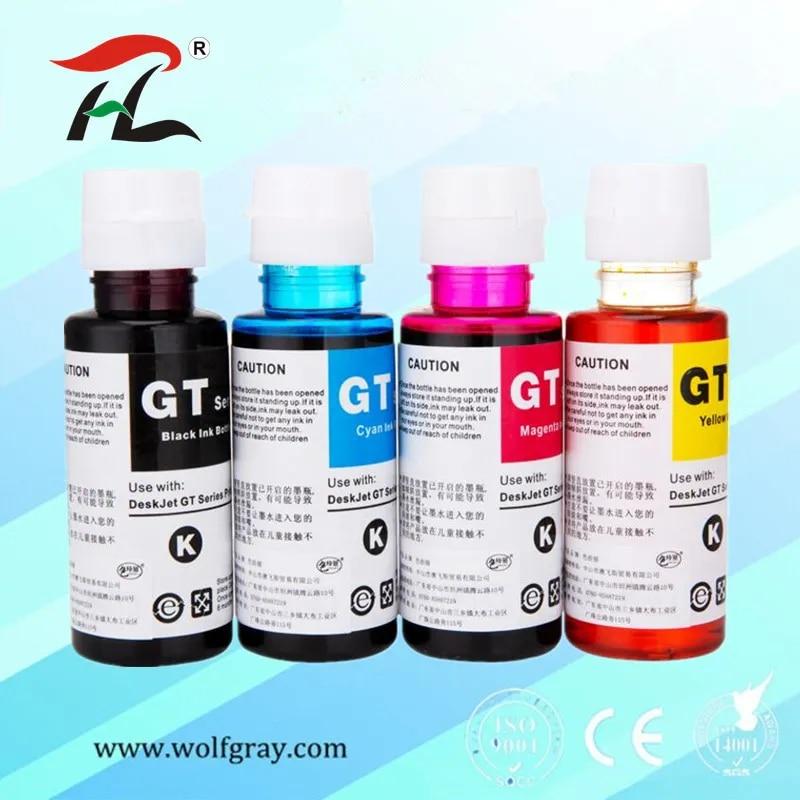 YI LE CAI – kit de recharge d'encre colorant, pour imprimante HP 400 655, 5820, 3525, 4615, 4625, 5525, 6520, 6525 ml