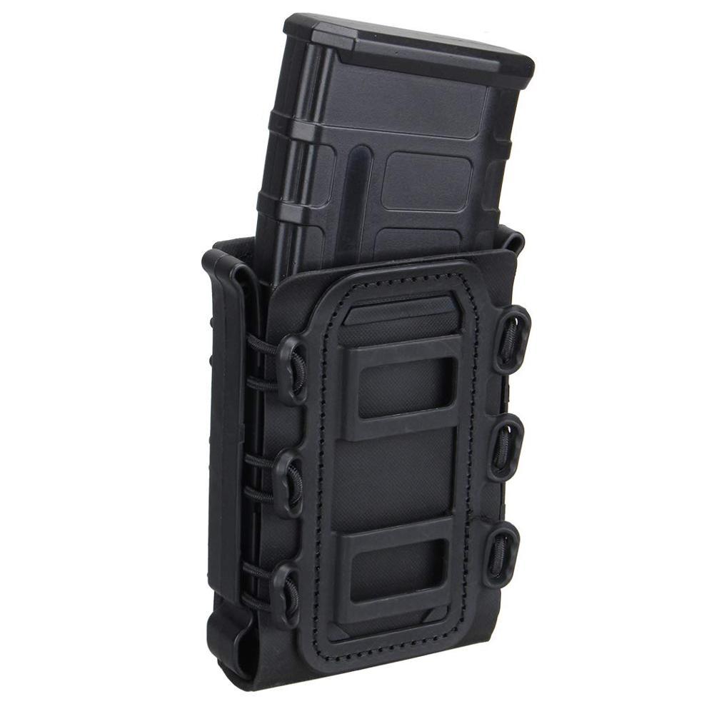 Bolsa de revista táctica Airsoft para caza y Tiro, funda para Rifle Mag, funda cartuchera 5,56x7,62mm, bolsa rápida Mag