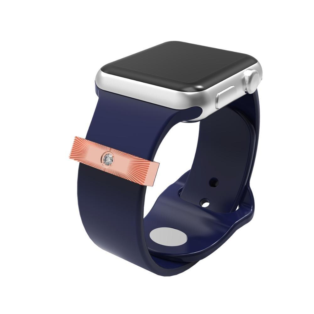 Anillo decorativo de metal, accesorios de aro decorativos, compatibles con relojes inteligentes de 38mm,42mm,40mm y 44mm