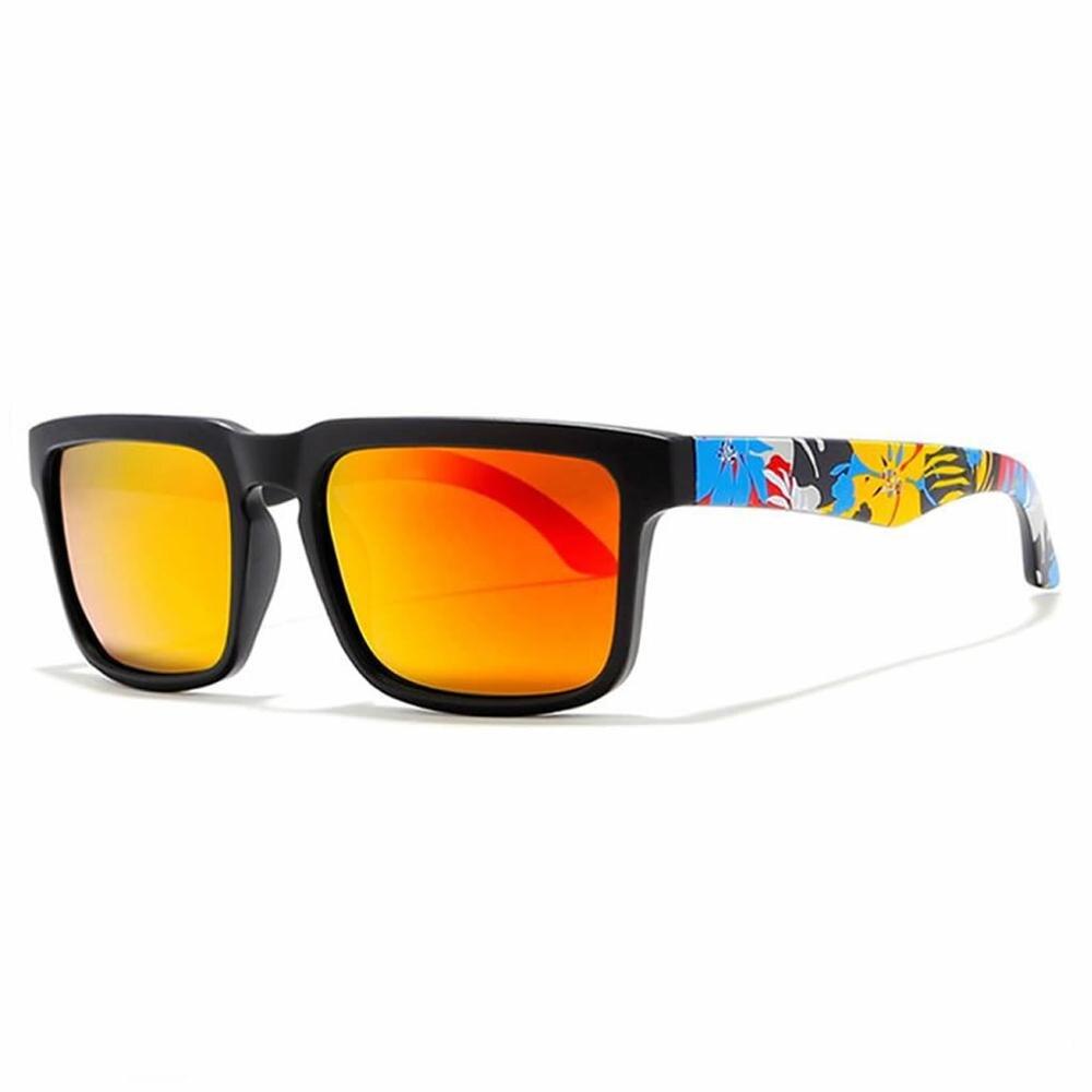 Polarized Square Sunglasses For Men Plastic Colorful Fashion Driving Eyewear Sport Sun Glasses 649C