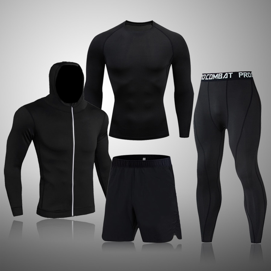 Winter Top quality new thermal underwear men sets compression    Sports suit sweat quick drying thermo underwear men clothing top quality new thermal underwear men underwear sets compression fleece sweat quick drying thermo underwear men clothing s 3xl