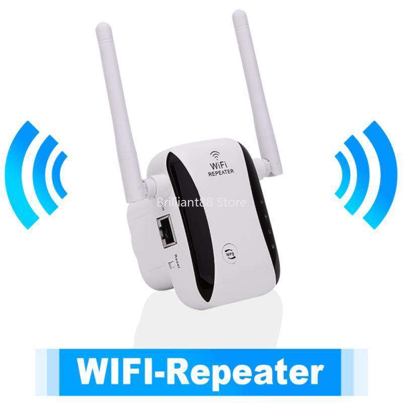 300Mbps Wireless WiFi Repeater 802.11N Wifi Amplifier, Long Range WiFi Signal Booster, 2.4G