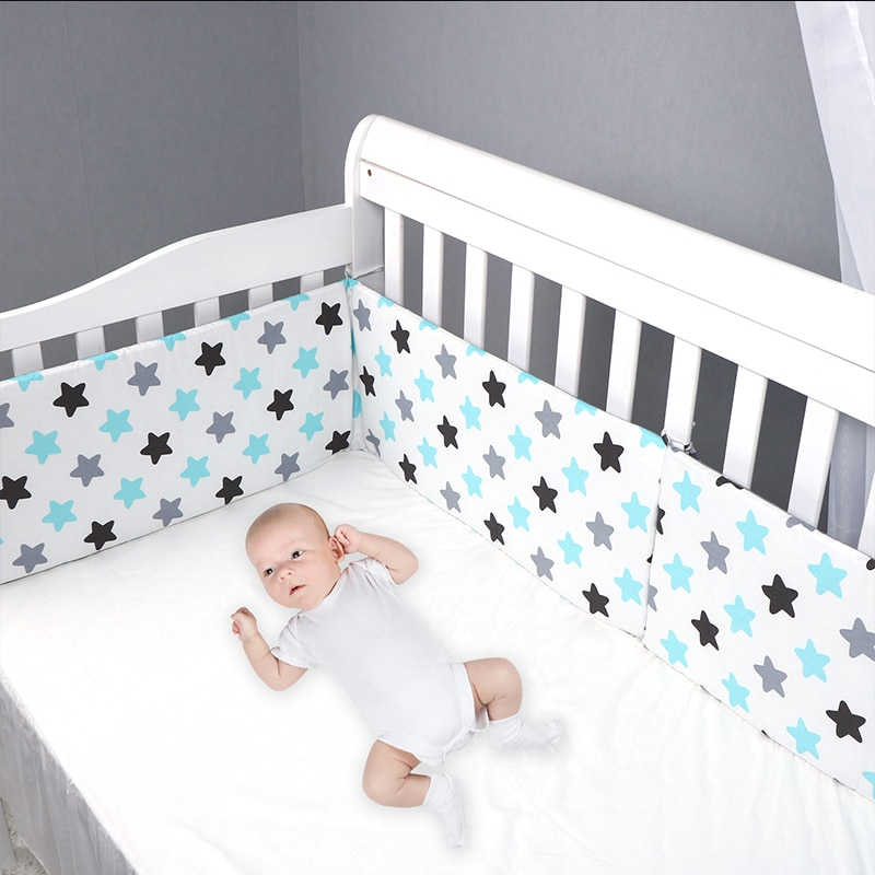 4 size blue pink color120 150 180 200cm baby bed fence guardrail baby crib guardrail bed rails bed buffer type meters general Children's Bed Barrier Fence Safety Guardrail Security Foldable Bumper Bed Bed Fencing Gate Crib Adjustable Kids Rails