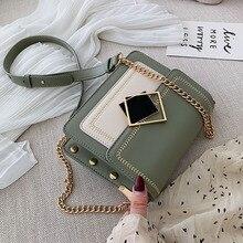 2019 bolsa de ombro pequeno saco de mensageiro bolsa de viagem de design de bloqueio especial feminina