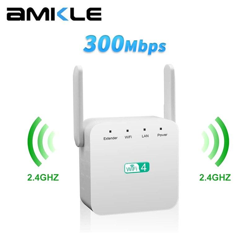 Беспроводной Wi-Fi ретранслятор 5G Гц, 300 Мбит/с, усилитель сигнала Wi-Fi 2,4G с большим радиусом действия, 5G Wi-Fi усилитель ретранслятор Wi-Fi