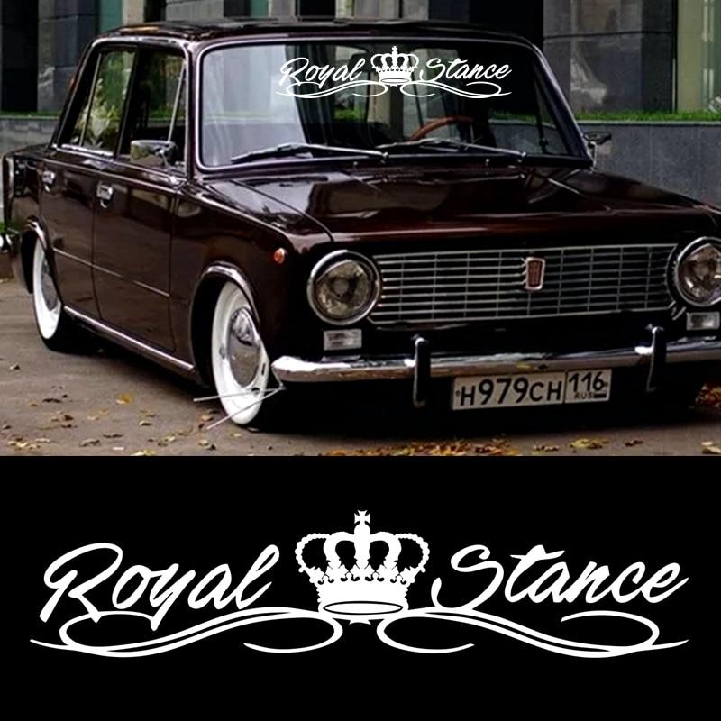 AliExpress - CS40082# Die-cut Vinyl Decal Royal stance Car Sticker Waterproof Auto Decors on Car Body Bumper Rear Window