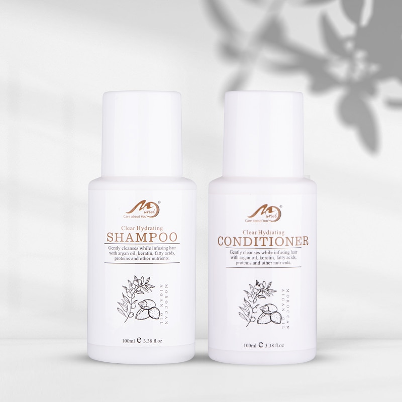 Купить с кэшбэком Hair Shampoo and Conditioner Moroccan Argan Oil Cheaper Hair Perfume 100ml Shampoing Keratin Best Hair Care Set For Dry Hair