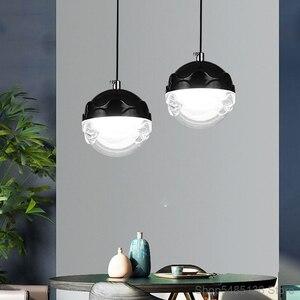 Nordic Glass  Pendant Light Bar Cafe Living Room Bedroom Hotel Modern Pendant Lamp Kitchen Hanging Lights Indoor Light Fixtures