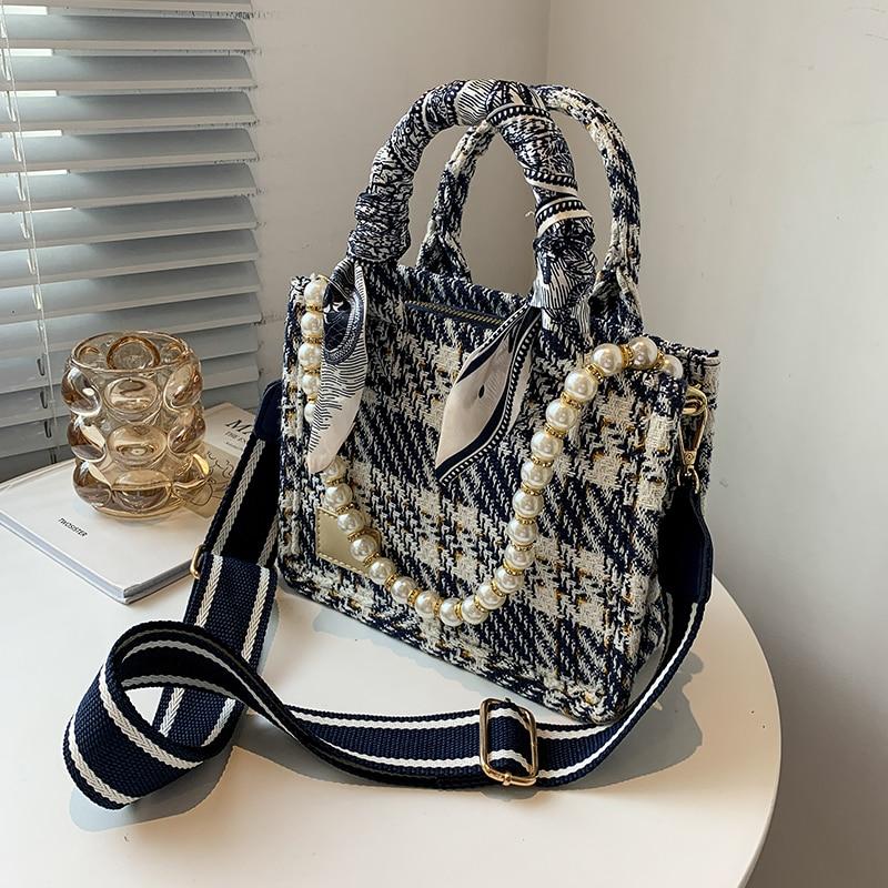 حقائب يد نسائية ذات سعة كبيرة حقائب يد منقوشة للنساء 2021 حقائب كتف ماركة فاخرة حقائب يد نسائية