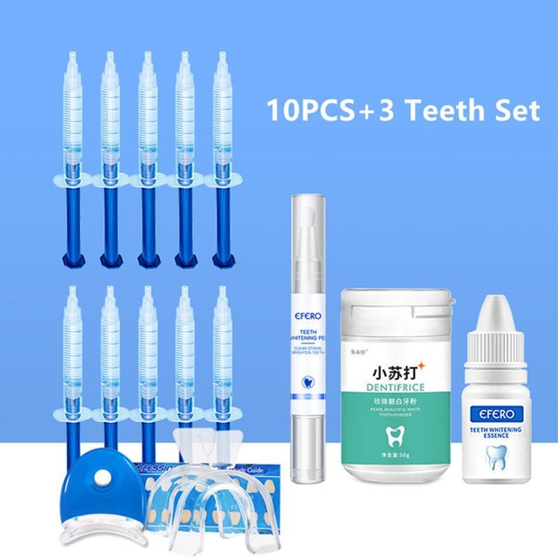 Dental Peroxide Teeth Whitening Pen Essence Powder Kit Oral Care Brightening Dental Equipment Teeth Whitening Gel