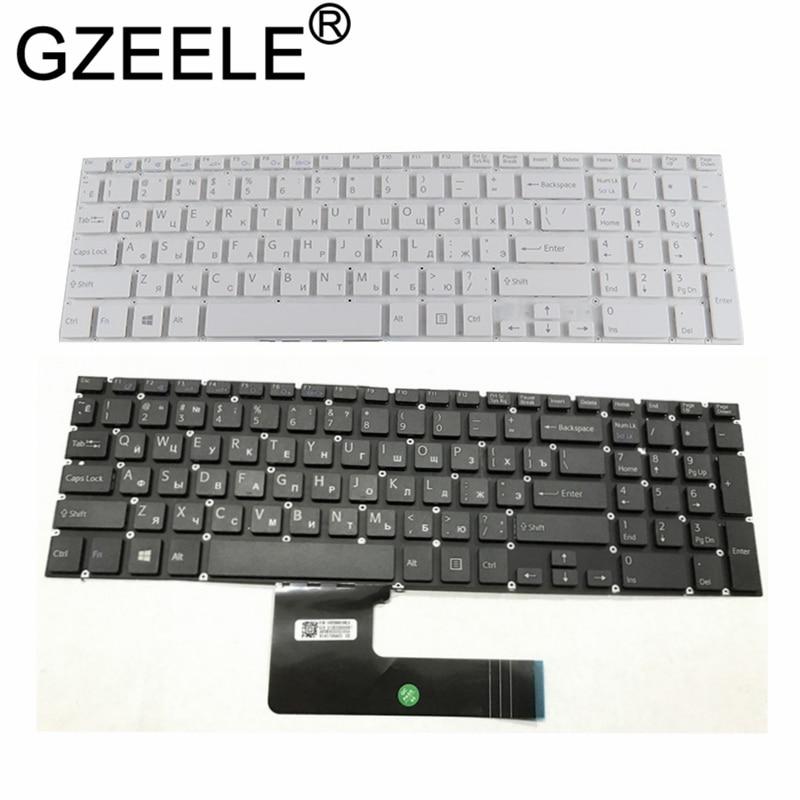 GZEELE NEW Russian RU laptop Keyboard for Sony VAIO SVF152C29V SVF153A1QT SVF152 SVF15A100C SVF152100C SVF153 SVF1521Q1RW SVF15
