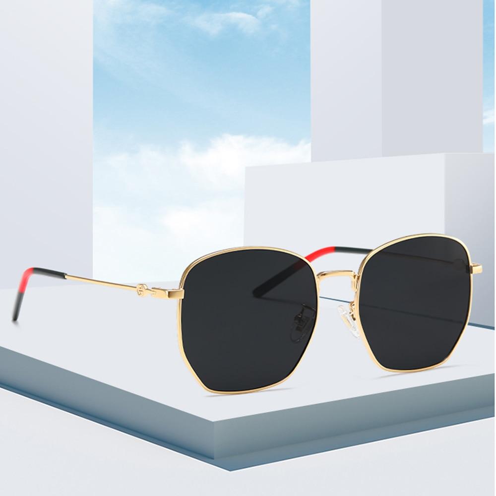 Sunglasses Women Polarized UV400 Lens Vintage Fashion Luxury Crystal Ladies Sun Glasses Eyewear For Women Female 9866