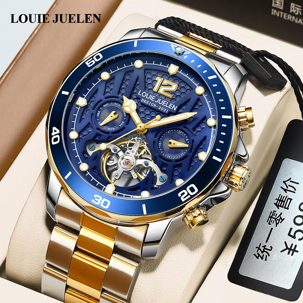 Men's Watch Wristwatch Mechanical Automatic Watch Mens Watches 2021 Top Brand Luxury 30M Waterproof