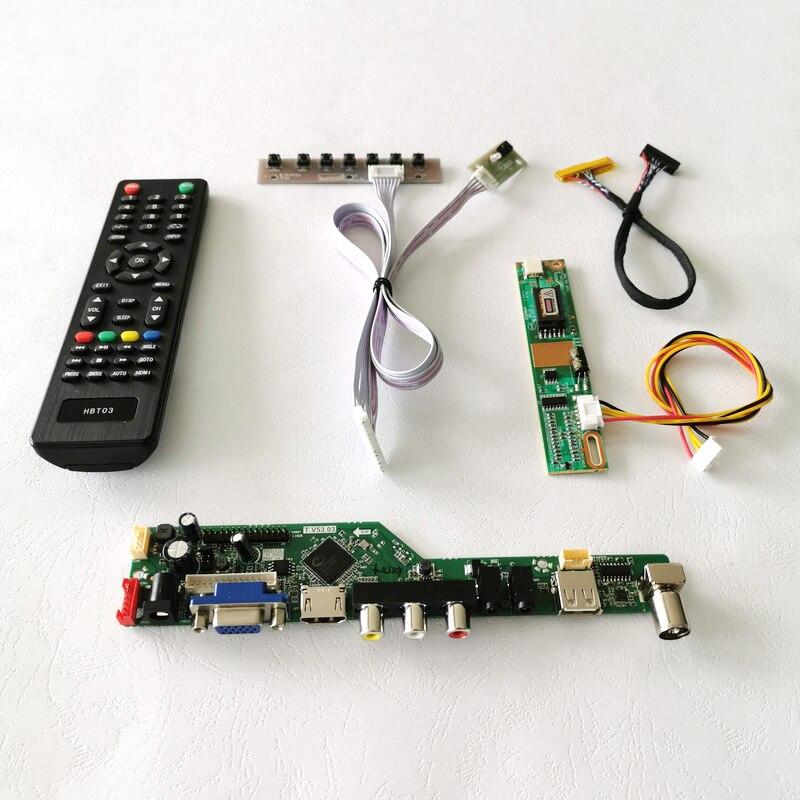 لوحة أجهزة الكمبيوتر المحمولة, تناسب B154EW02/B154EW04 لوحة الكمبيوتر المحمول 1-CCFL الصوت VGA USB عن بعد 1280*800 15.4
